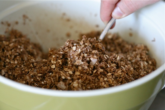 Chocolate Almond Granola 9