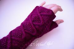 Rose's Wristwarmers - Adult Sized