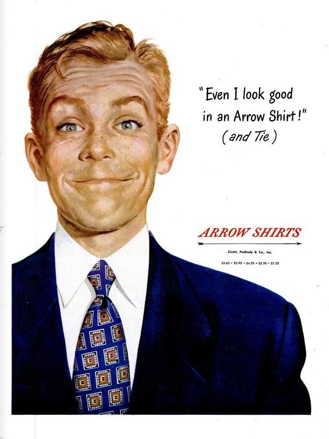 arrow shirts - even I look good