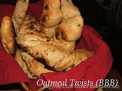 Oatmeal Twists (BBB)