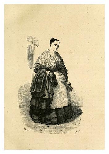 004-El ama del cura-Los españoles pintados por si mismos-Tomo I-1843- Editado por Ignacio Boix