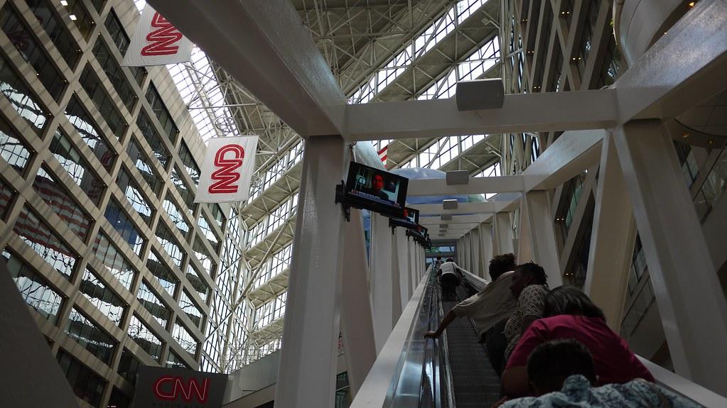 CNN Giant Escalator