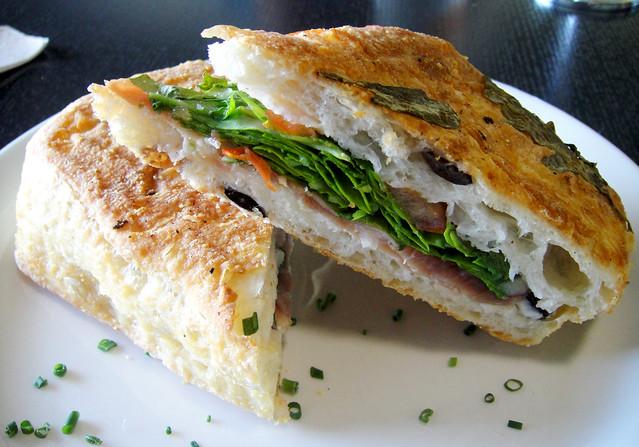 Prosciutto, Ricotta and Truffle Sandwich