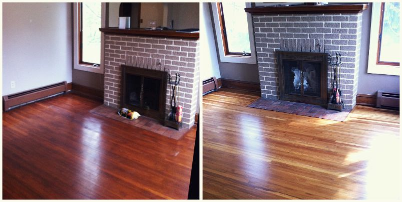 Before & After: Hardwood Floors