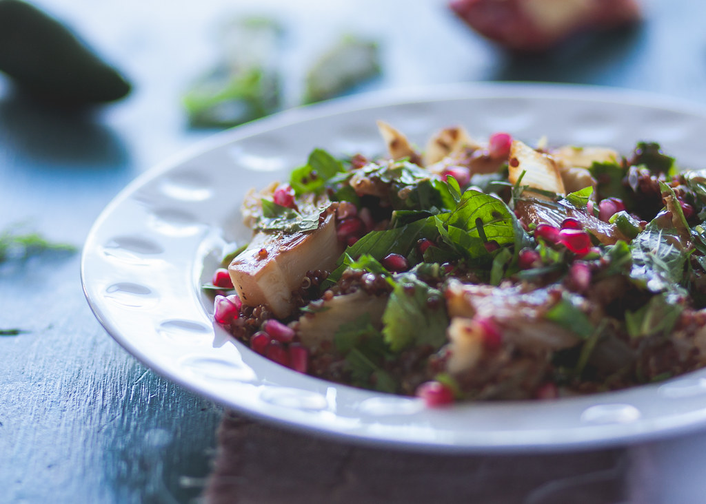 Fennel, Quinoa & Pomegranate