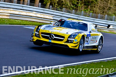 #63 – Black Falcon - Mercedes-Benz SLS AMG GT3 (SP9)