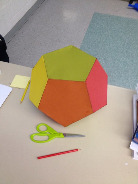 Dodecagon — construction Process