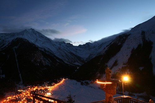 Gran Paradiso, night view