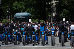 Bloomberg announces CitiBike NYC