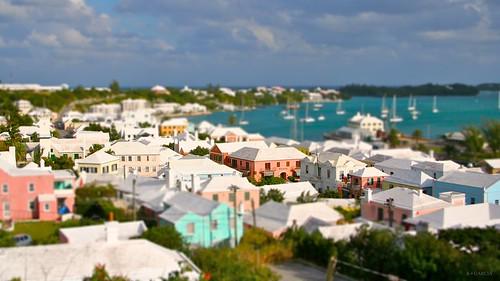 photoshop island town stgeorges unesco bermuda tiltshift townofstgeorge stgeorgestown