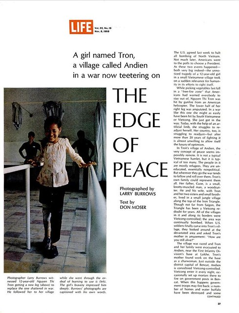 LIFE Magazine Nov 8, 1968 (3) - THE EDGE OF PEACE