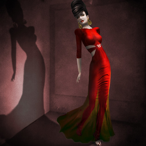 {Meghindo's} ~ Beatriz ~ Gown ~ / PoSEsioN Yula Set