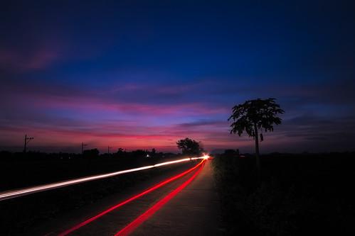 longexposure sunset tree canon colorful philippines papaya cavite naic 550d calabarzon kissx4 dheej18 djvillanueva