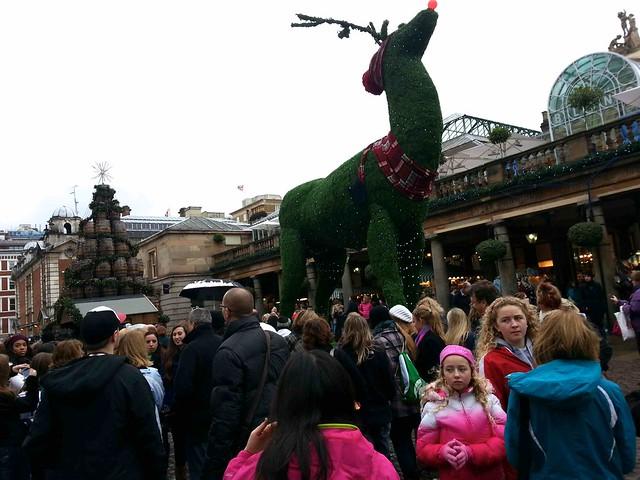 Christmas in Covent Garden, London, ©evaespinet