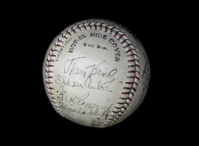 Baseball Signed By The 1933 Detroit Tigers Baseball S