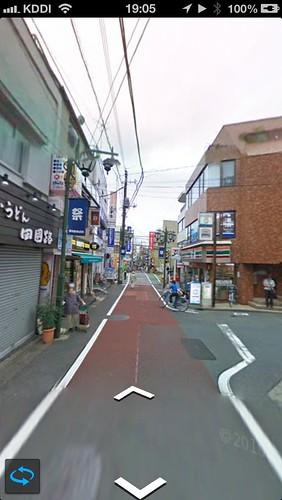 Google Mapsのストリートビュー