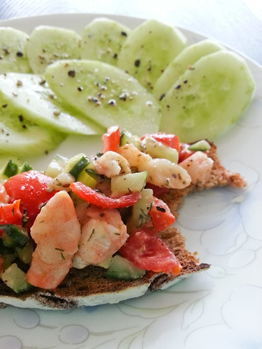 Shrimp and Tomato Toasts 3