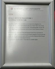 1928 Rolls-Royce Phantom I Riviera Town Car Info