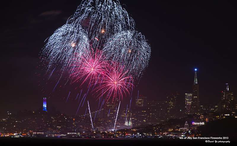 4th of July San Francisco Fireworks 2013