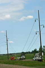 vehicle, overhead power line, wind, electricity,