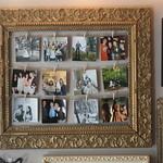 Photos on Clothespins