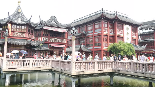 上海豫園老街