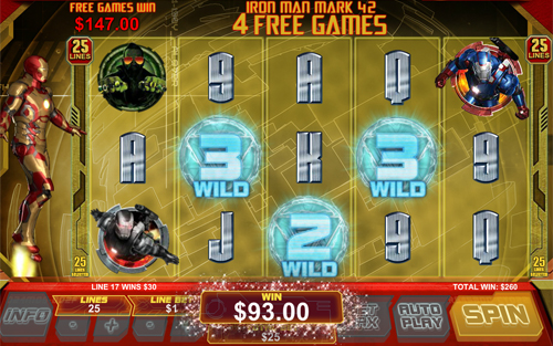 free Iron Man 3 free spins feature