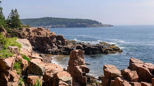 Ocean Path Scenery