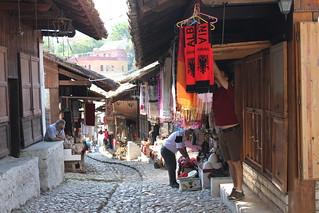Bazaar in Krujë