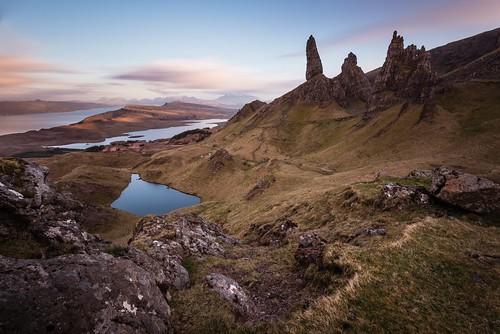 longexposure sunset mountain skye tourism scotland oldman oldmanofstorr storr