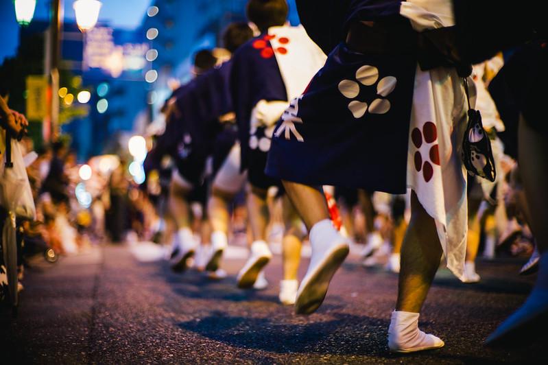 神楽坂祭り。