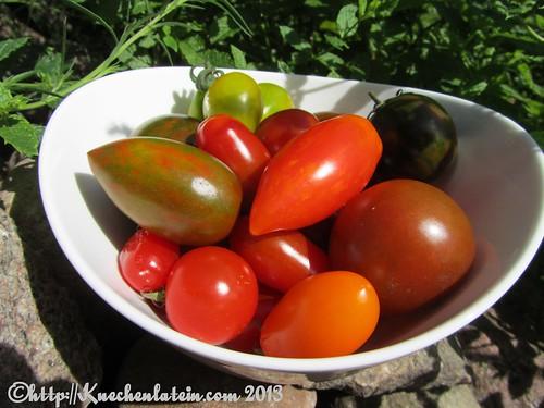 tomatensalat mit getrockneter minze aus tomaten mit. Black Bedroom Furniture Sets. Home Design Ideas