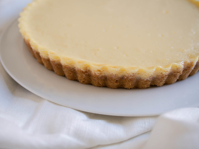 Mascarpone cheese tart
