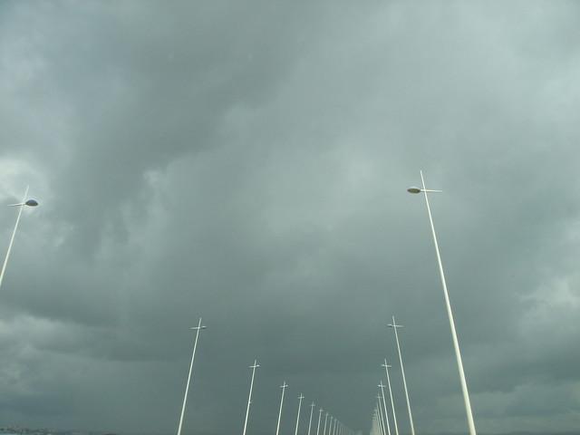 Não é por nada, mas eu gosto de umas boas nuvens