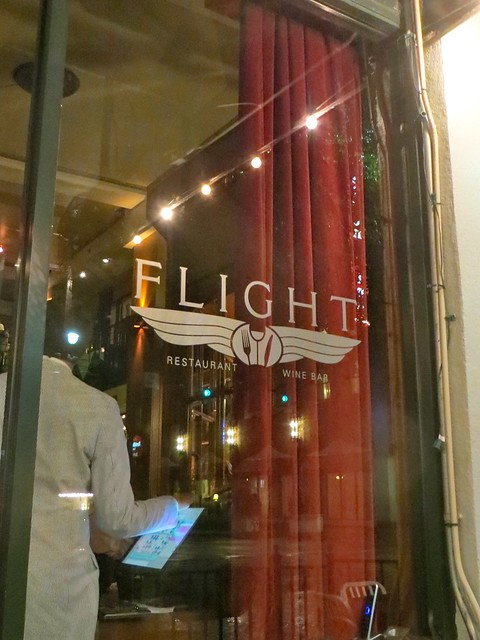Birthday dinner at Flight