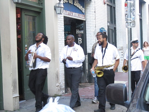 Musicians on the street- NOLA