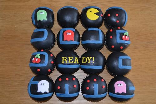 Pacman cupcakes!