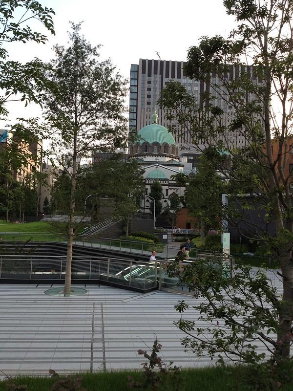 ソラシティから見るニコライ堂 by haruhiko_iyota