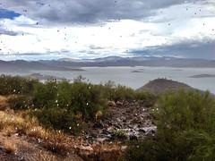 Rain at Lake Pleasant