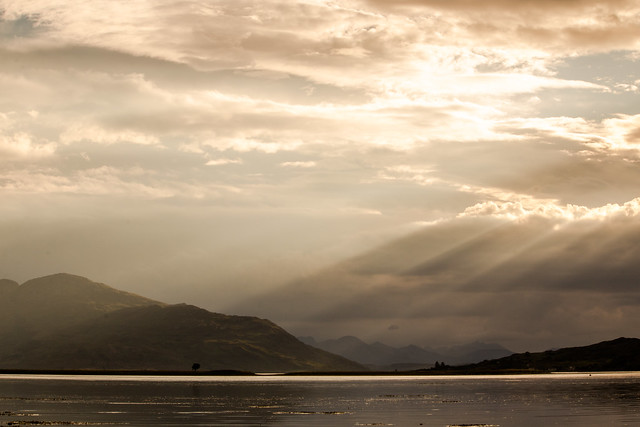 Dramatic Sunset - Eilean Donan Castle