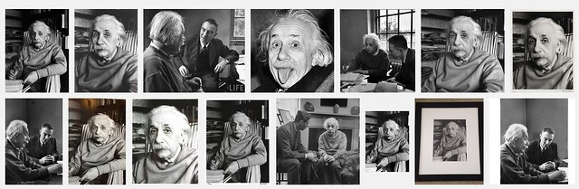 Alfred Eisenstaedt phots of Einstein