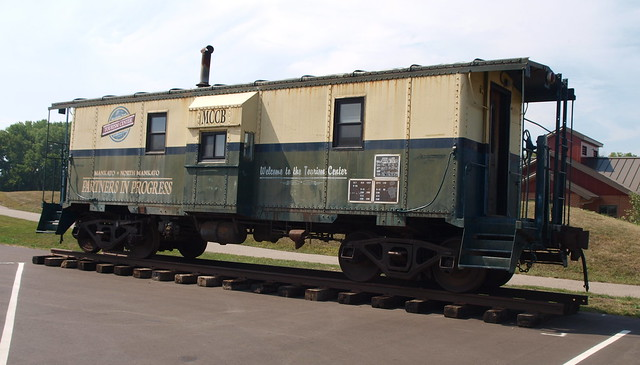The Visitors Bureau Caboose