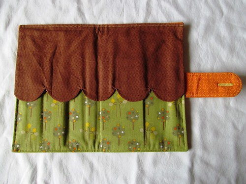 Sewing On Pins Finished Project Double Point Knitting Needle Case