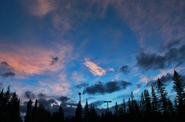 Bragg Creek Sunset