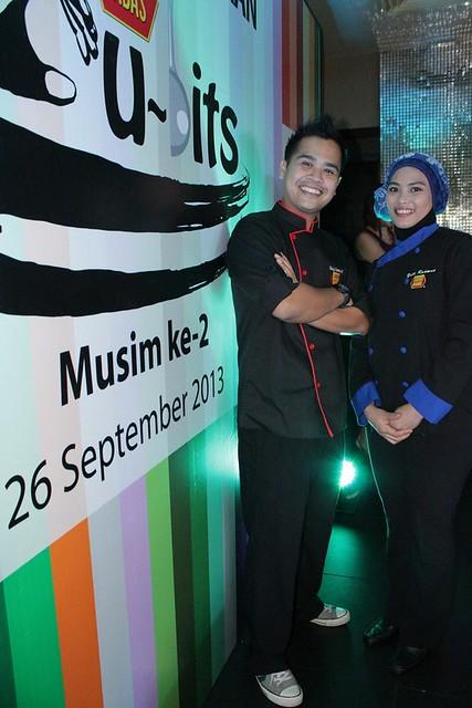 Chef Kamarul & Yati Rahman akan menjadi chef dlm program Babas Cu~Bits (2)