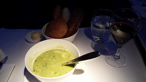 Qatar Airways 5 Star Meal