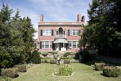 looking N across back lawn - Woodrow Wilson House - Washington DC - 2013-09-15