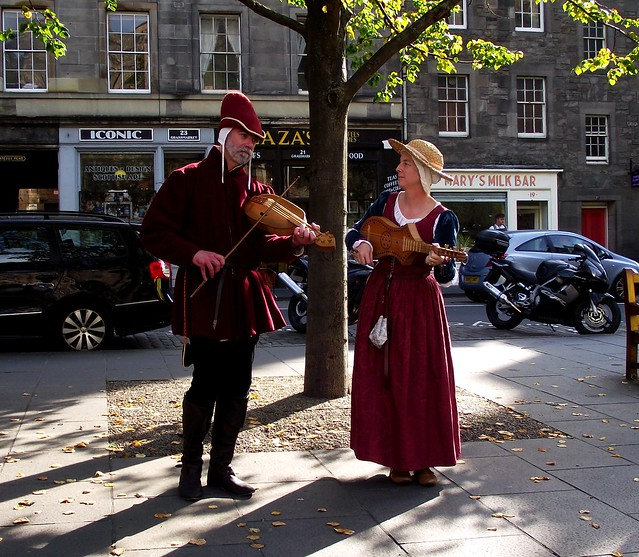 going medieval in the Grassmarket 09