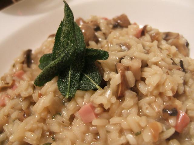 Risotto Funghi Porcini, Castagne, Pancetta Bimby