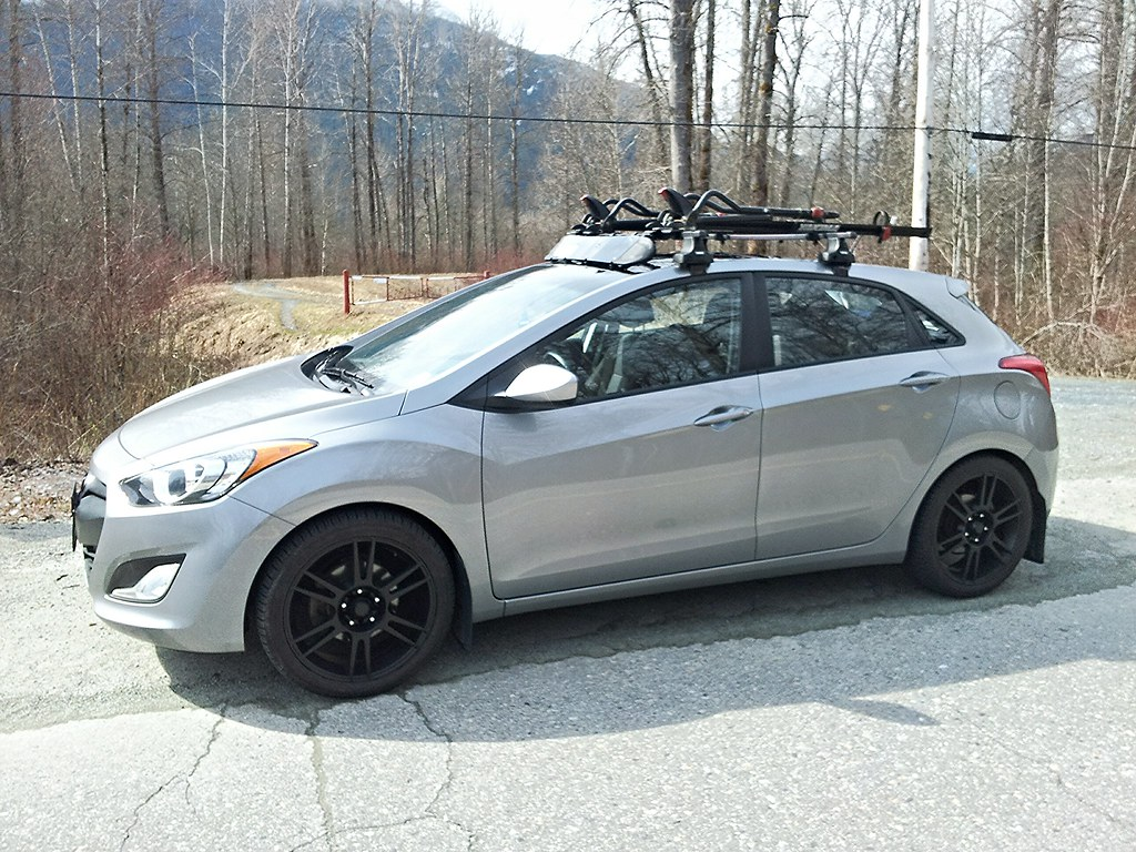 Roof Rack For A Kayak On The Panoramic Model Hyundai